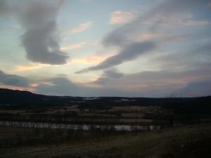 Barfrost over Tynset