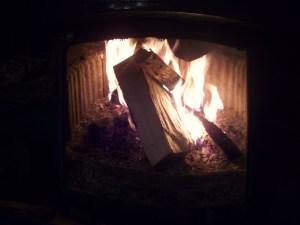 Deilig ved varmer i stua mi