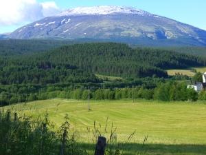 Vi kan forstå hvorfor fjellet har fått navnet...