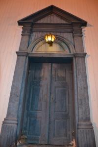 Inngangsdør Tynset kirke