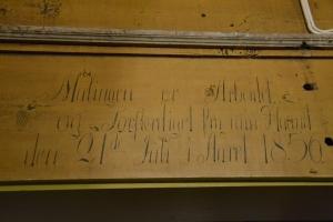 """""""Malningen er Arbeidet og Forferdiget fra min Haand den 21de Juli i Aaret 1856"""" Men hvem var maleren?"""