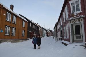 Vi tar oss tid til en tur rundt i vakre Bergstaden, litt utenfor hundeglam og folk