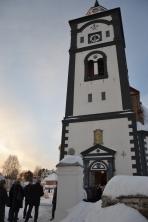 Bergstaden Ziir, eller Røroskjerka, et kjent landemerke i byen og vel verdt et besøk.