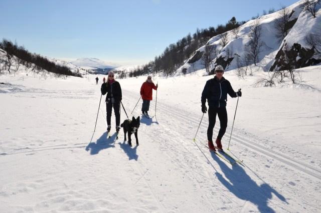 Skitur er også gøy!