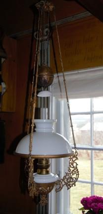 - en flott parafinlampe
