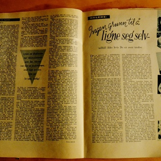 Alle Kvinner i 1958 slår fortsatt fast at det er ingen grunn til å ligne seg selv - i hvert fall ikke om du er over tredve...