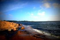 En annen dag er sjøen litt mer livlig
