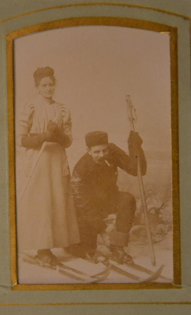 Oldemor Annes bror, Jon, og hans kone Anna