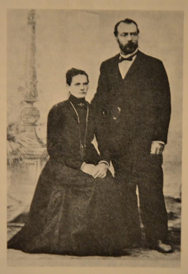 Oldemor Anne og oldefar Peder
