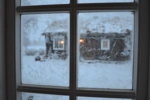 Snøen laver ned i dag, 1. desember og skaper flott førjulsstemning