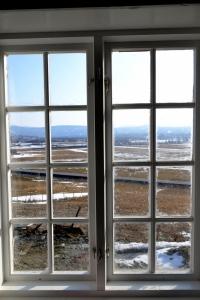 Halve vinduet er renset for mesteparten av oljen. Tid for pause, for dette var tungt!