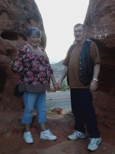 Terry og hans kone Jan