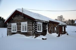 Sommerstua i vinterskrud