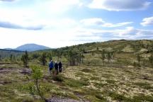 Fjelltur til Gruvkletten med gjester fra Danmark
