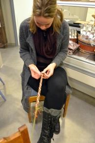 Anne Ragnhild ser ut til å ha et naturlig talent og har allerede kommet langt!