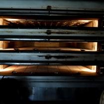 Her kan bakes mange brød i denne ovnen