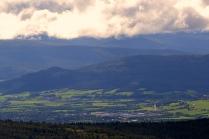 Utsikt over Tynsetbygda