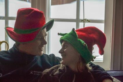 Det ble ingen Julebukker, men vi kan jo alltids leke litt likevel